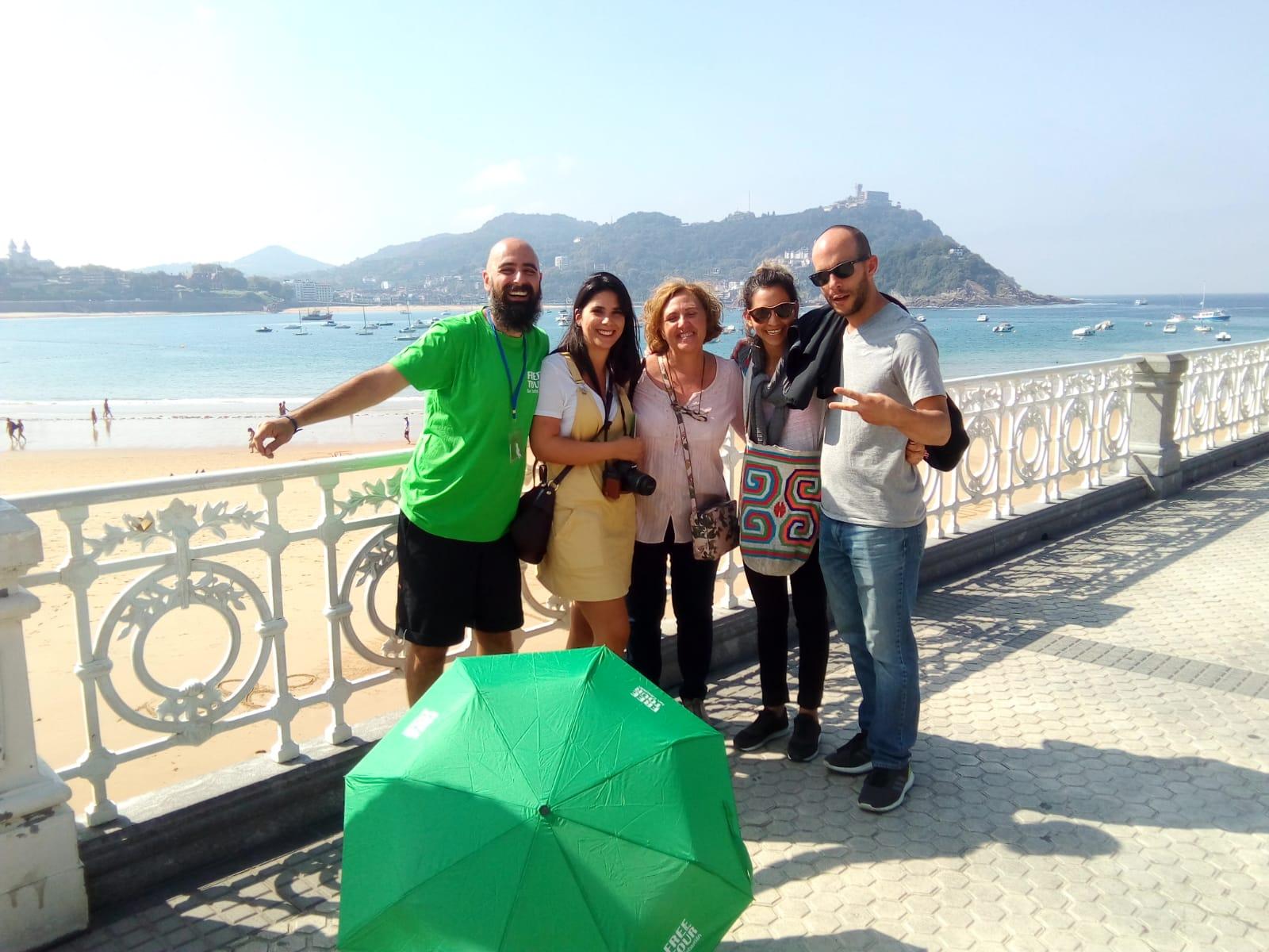 ruta turística san sebastián